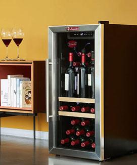 Comparatif caves à vins de service
