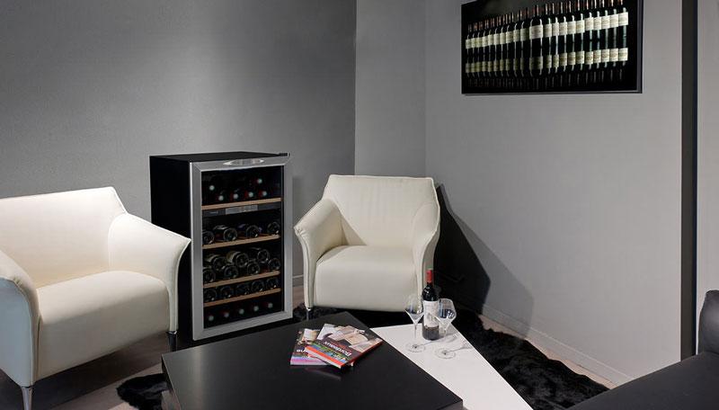 Petite cave à vin de service d'appartement