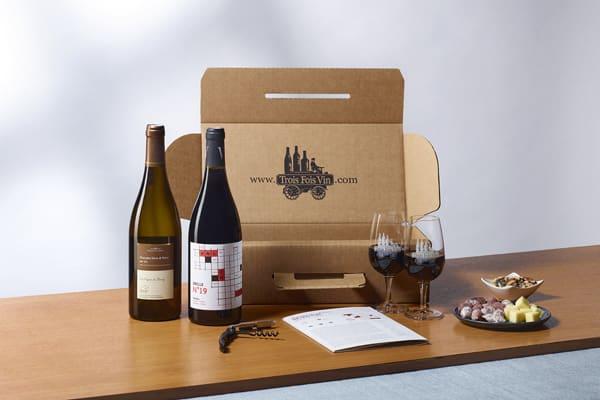Box vin découverte TasteVin TroisFoisVin