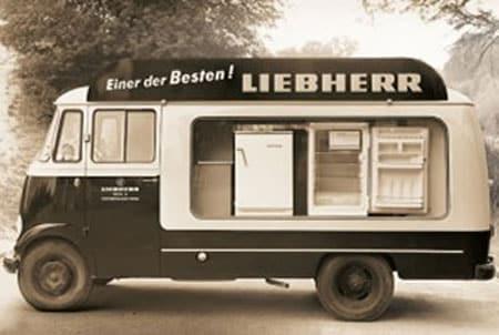 Un des premiers réfrigérateurs Liebherr