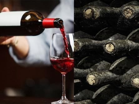 Vieillissement ou service du vin