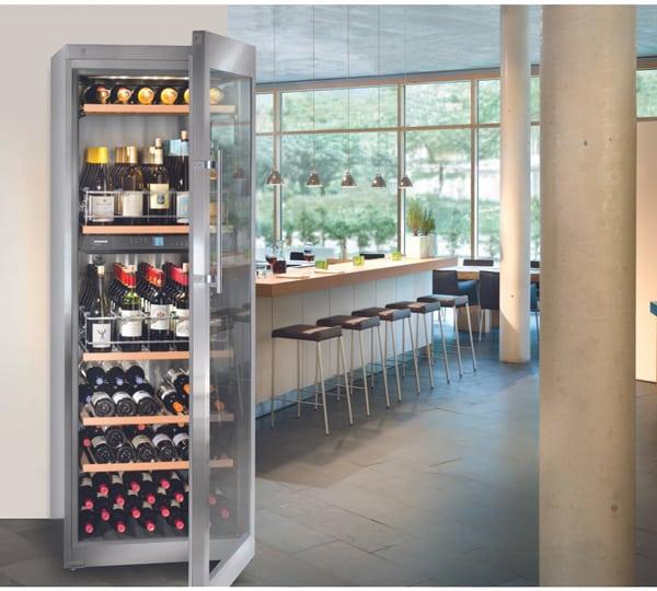 Cave à vin mixte 2 zones Liebherr 100 bouteilles