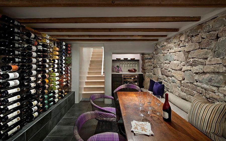 Cave à vin en sous sol